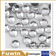 SS10 Crystal Wholesale environmental korean hot fix rhinestone flat back, hot fix lead free rhinestones