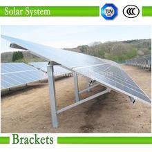 Photovoltaic pv, solar panel mounting brackets, mini solar power plant
