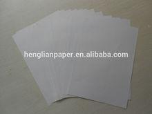 Cópia de tamanho carta de papel 70 g / 80 g / 75 g