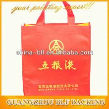 (BLF-NB163)wine glass carrier bag
