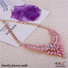 2014 Latest Design Jewelry Flower Shourouk Necklace for Women