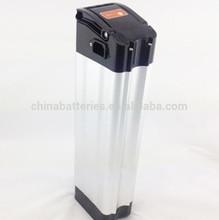 silver fish 36v electric bike battery / 36v 10ah lifepo4 battery pack for ebike