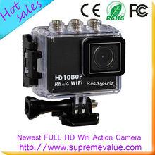 waterproof action sports camera CCTV Camera camera sport full hd 60fps