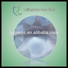 Rough TBL-04 Round Sapphire Glass