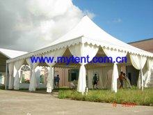 aluminum pagoda tent easy to tensile rainproof