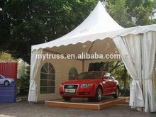 high strength aluminum pagoda tent easy to build