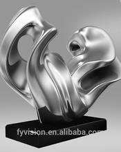 Abstract modern sculptures