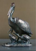 Brass Swan Sculpture for decoration
