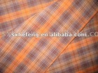 40S Yarn Dyed Cotton Fabric, check pattern shirt fabric