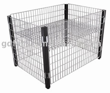 4-column Wire promotion cage