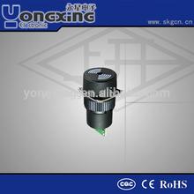 16mm round fire alarm buzzer