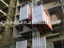 2000KG Building Hoist, passenger and material hoist, frequency invertor hoist