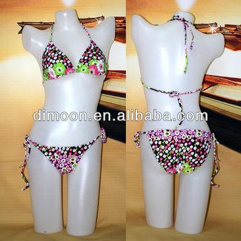 Padded Halters Hot sex woman Bikini