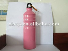 750ml aluminum sports water bottle with carabiner