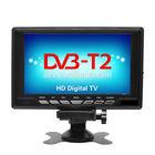 9-12V DC 7.5 inch portable TV with built-in tunner DVBT,DVB-T,DVB-T2 transmitter receiver built-in digital TV w