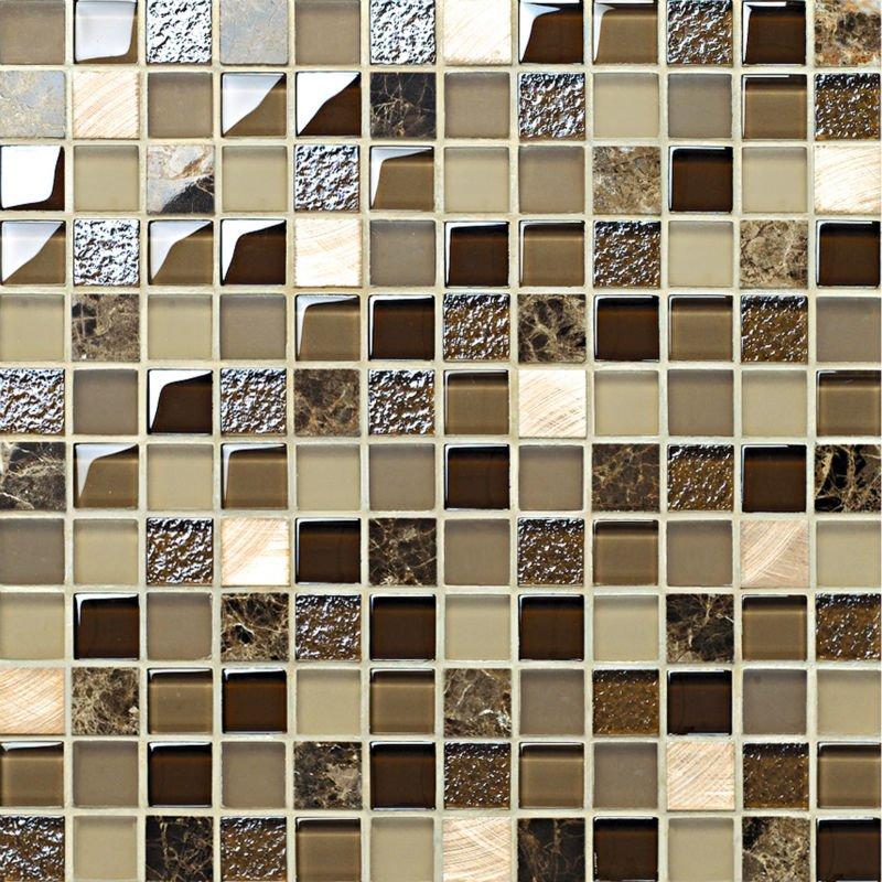 Vetro in cristallo mattonelle di mosaico mc23026 mosaico - Mattonelle mosaico bagno ...