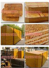 Noah bamboo pallet for bricks/block making machine