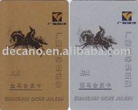 PVC Magnetic silver membership Card