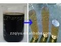 Alquitrán de hulla, De aceite crudo y de reciclaje de aceite usado equipo