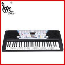 Ark518 54 crianças chave brinquedo eletrônico teclado com LED