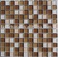 Stile selezioni piastrelle di vetro mosaico con prezzo di fabbrica ( 300x300mm )