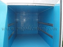Stainless steel load restraint/retention/cargo track for refrigerated truck body