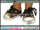 Nice cute leopard 18 inch American girl doll sneakers, doll sport shoes, doll shoes for 18inch doll