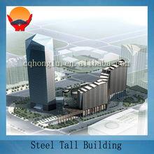 Steel Tall Hotel Building