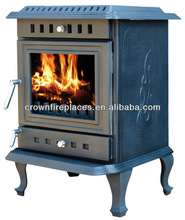 cast iron stove/wood burning stove with bolier