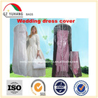 clear wedding dress cover / Garment bag/suit cover
