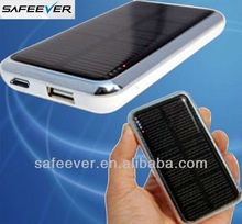 Portable solar mobile charger 3500mah solar power pack for ipad iPhone 5