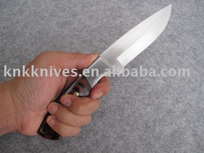 bois pakka couteau de chasse