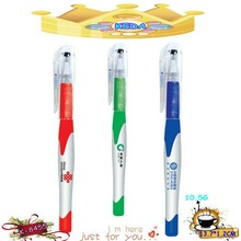 Plastic ball pen school stationery