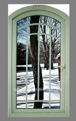 Pvc double glazing Arc window