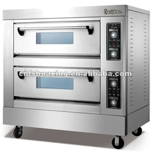 ( PEO-2)2 layers 4 trays human based electric baking pizza oven