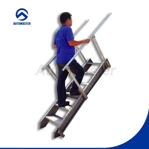 Port til de aluminio escaleras escaleras al aire libre - Escaleras al aire ...