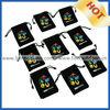 black velvet pouch for gift packing