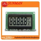 LCD display use for electronic scale