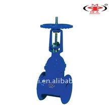 RRHX cast iron rising stem gate valve,gate valve of Mintai