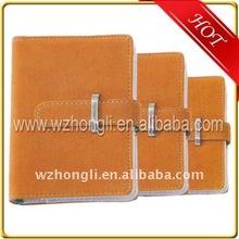 Customize PU/leather notebook/daily agenda