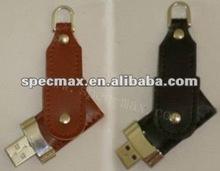 oem swivel 16gb leather usb flash drive