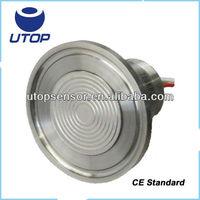 UPX20-b flush diaphragm piezo flat pressure sensor