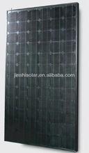 190W 195W mono all black Solar Panel (black Solar Module,black PV panel ) for solar system,TUV,IEC,CEC,CE
