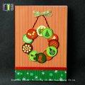 2014 pop até 3d cartões de natal rabbion decoração