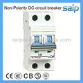 aeainterruptor de corriente continua para la energía solar miniinterruptor de circuito