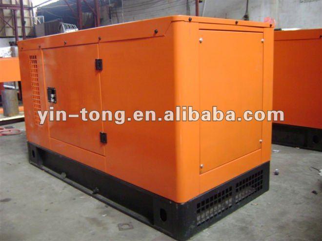 40KW Super silencieux groupe électrogène diesel refroidi à l'eau générateur