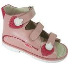 2015 new design orthopedic leather child shoe,wholesale leather child shoe