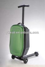 2012 NEW Nylon 3 Wheels Universal Expandable Spinner Upright EVA Luggage Fashion Trolley bag