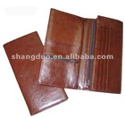 Leather Travel Wallet Organizer for Woman