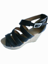 2012 fashion roman high heel cork Sandals